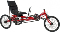AnTryke 50-FC-2300-USS - JT-2300-USS Recumbent Adaptive Tricycle
