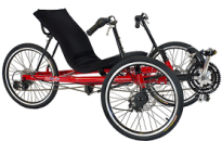 AnTryke 50-FC-3000 - Tadpole Recumbent Adaptive Tricycle