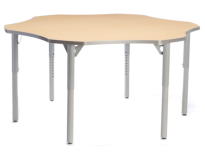 AKTIVITY Flower Height Adjustable Student Table
