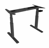 Locktek Height Adjustable Standing Desk Frame - HAD3B