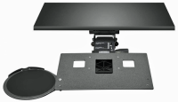 Leverless Lift N' Lock Laptop Keyboard Tray with Mouse Platform - KCS69515