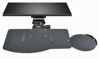 Leverless Lift N' Lock Natural Keyboard Tray with Mouse Platform - KCS69532