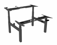 Dual Height Adjustable Standing Desk Frame - HAD3H