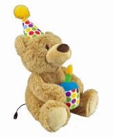 Switch Adapted Happy Birthday Bear