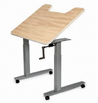 Equity Adjustable Activity/Computer Table with Tilt