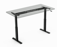 H2-FlexiDESK Height Adjustable Hand Crank Desk
