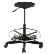 Ultima Art/Lab Stool with Foot Ring