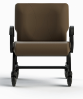 "Titan Plus Caster 24"" Wide Bariatric Chair"