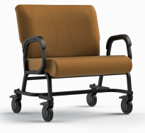 "Titan Plus Caster 30"" Wide Bariatric Chair"