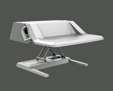 Stylish Sit-Stand Workstation