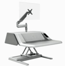 Stylish Sit-Stand Electric Workstation