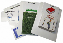 Tangible Object Cards BUNDLE (50 Object Cards - all cards except Function Words)