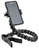 "Phone Holder with Spring Clamp - 24"" arm"