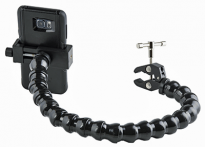 "Phone Holder with Mini Clamp - 18"" arm"