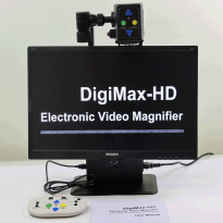 "DigiMax 3-in-1 22"" HD Multi-function Video Magnifier"