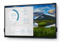 Dell 86 4K Interactive Touch Monitor: C8618QT