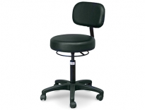 Economy Air-Lift Stool with Backrest - 2156-707