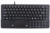 Industrial Mini Silicone Waterproof keyboard with Touchpad