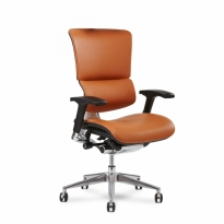 Leather Exec Chair - X4