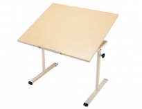 Wheelchair Accessible Worktable with Tilt Top