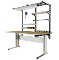 Accella Adjustable 2 Leg Workbench
