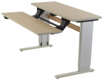 Infinity Adjustable Dual Surface Workstation - IN361416BL