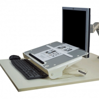 U slope Laptop Stand and Book/Document Holder