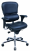 Ergohuman Mid Back Leather Chair - LE10ERGLO