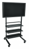 Universal LCD TV Stand - Three Shelves - WFP100-B