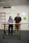 Stand2Learn YZE Double Student Standing Desk: 6 - 12