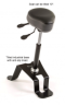 TA-180 Sit Stand Industrial Chair