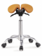 Saddle Style Split Seat Ergonomic Saddle Chair