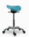 All Angles Rocking or Tilt Mechanism Divided or Two Part Saddle Seat Stool